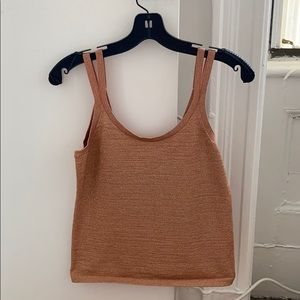 Club Monaco Metalic Top